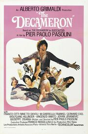 1971 - The Decameron Movie Poster