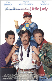 Three Men And A Little Lady 1996 Re-Release Poster