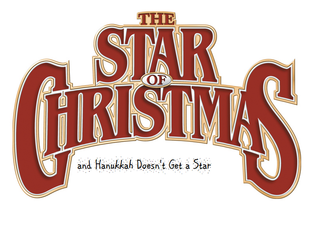 File:Star of Christmas and Hanukkah Doesn't Get a Star logo.png
