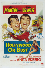 1956 - Hollywood or Bust Movie Poster
