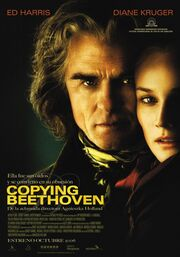 2006 - Copying Beethoven Movie Poster -2