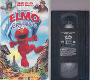 Elmo in Grouchland 1999 VHS