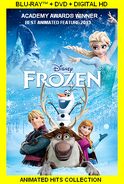FROZEN blu-ray ah 2