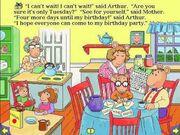 Arthurs Birthday from Living Books Sampler