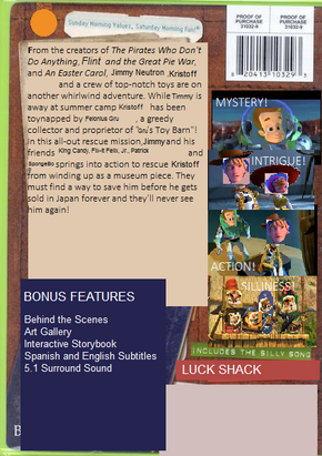 Character Story 2 DVD back cover