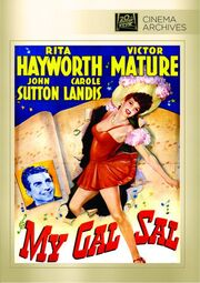 1942 - My Gal Sal DVD Cover (2012 Fox Cinema Archives)
