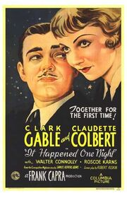 1934 - It Happened One Night Movie Poster