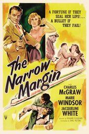1952 - The Narrow Margin Movie Poster