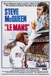 1971 - Le Mans Movie Poster