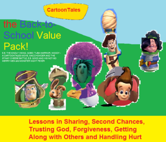 CartoonTales Back to School Value Pack