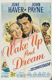 1946 - Wake Up and Dream Movie Poster