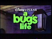 A Bug's Life VHS Preview