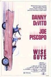 1986 - Wise Guys Movie Poster