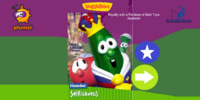 Royalty with a Fondess of Bath Toys (VeggieTales appisode)