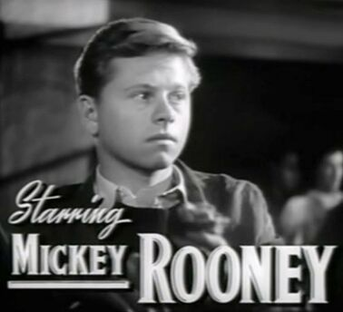 Mickey Rooney in The Human Comedy trailer