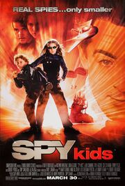 2001 - Spy Kids Movie Poster