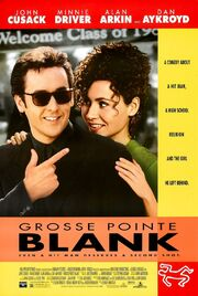 1997 - Grosse Pointe Blank Movie Poster