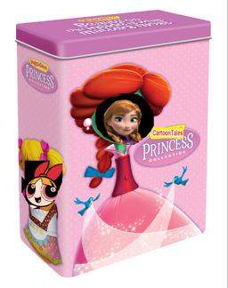 Cartoon princess tin