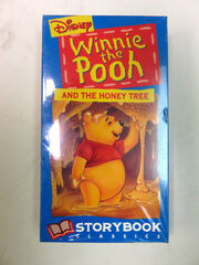 Winnie the Pooh and the Honey Tree 1994 VHS