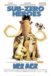 ICE AGE (2002) THEATRICAL POSTER