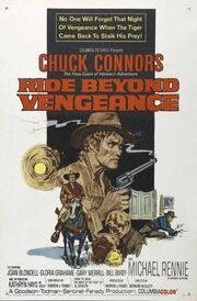 1966 - Ride Beyond Vengeance Movie Poster