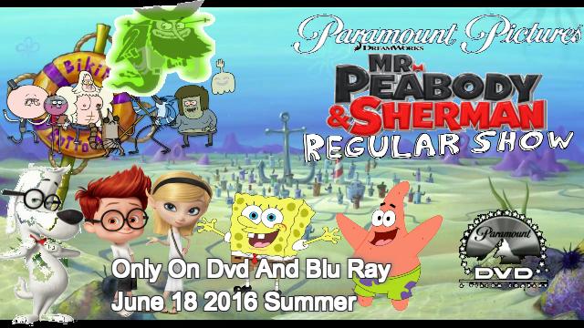 File:Mr Peabody & Sherman & Regular Show Poster 6.png