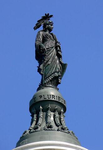 File:412px-Capitol dome statue Washington DC 2007.jpg