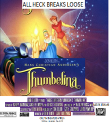 Thumbelina 2001 Re-Release Poster