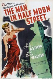 1945 - The Man in Half Moon Street Movie Poster