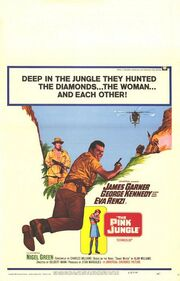 1968 - The Pink Jungle Movie Poster