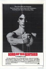 1978 - King of the Gypsies Movie Poster