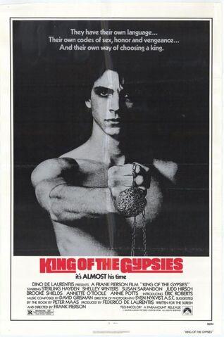 File:1978 - King of the Gypsies Movie Poster.jpg