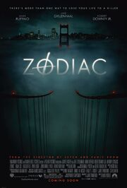 2007 - Zodiac Movie Poster