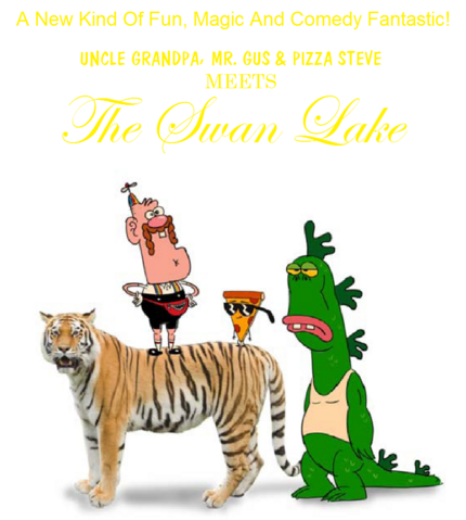 File:Uncle Grandpa Mr Gus And Pizza Steve Meets The Swan Lake VHS.png