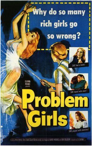 File:1953 - Problem Girls Movie Poster.jpg