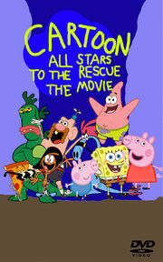 Cartoon All Stars To The Rescue The Movie DVD Cover