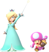 Rosalina and Toadette
