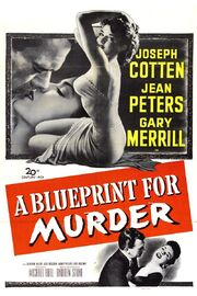 1953 - A Blueprint for Murder Movie Poster 1