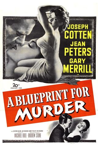 File:1953 - A Blueprint for Murder Movie Poster 1.jpg