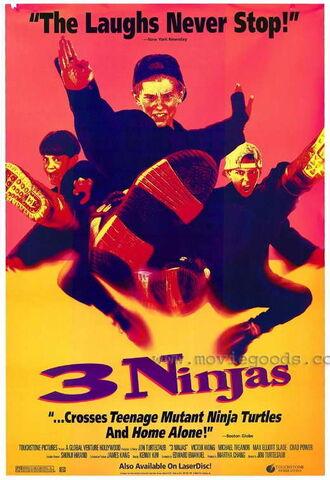 File:1992 - 3 Ninjas Movie Poster.jpg