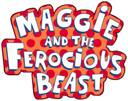 File:Maggie and the Ferocious Beast Logo.png
