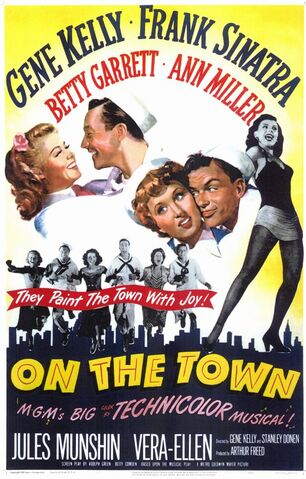 File:1949 - On the Town Movie Poster.jpg
