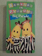 Bananas in pajamas big parade vhs