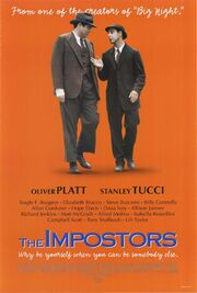 1998 - The Impostors Movie Poster