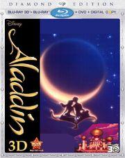 Aladdin on 3d Bluray