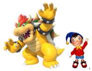 Bowser and Noddy