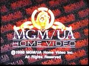MGM UA Home Video Rainbow Copyright Scroll (1998)
