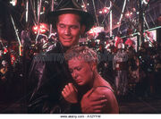 Charlton Henston and Betty Hunton