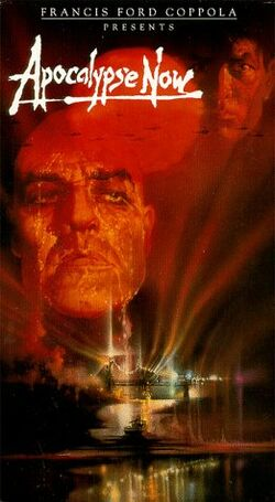 Apocalypse Now 1992 VHS (Front Cover)