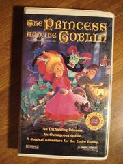 The Princess and the Goblin VHS
